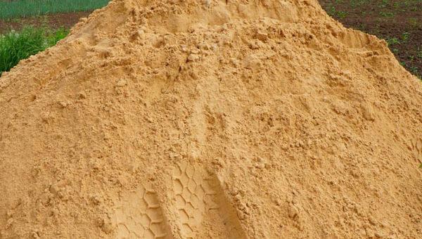 Сезонное снижение цен на намывной песок